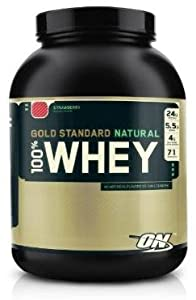 Optimum Nutrition Gold Standard 100% Whey Natural Chocolate, Value Pack (10 lb)