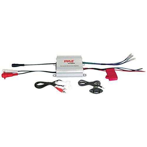 Pyle Plmrmp1A 2-Channel Waterproof Mp3/Ipod Marine Power Amplifier