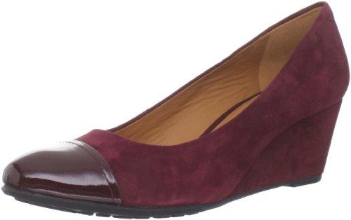 Geox Women's D Venere S Burgundy Formal Loafers D24P8S2166C7005 6 UK, 39 EU