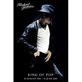 Michael Jackson Signature King of Pop Poster