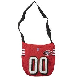Little Earth San Francisco 49ers Quarterback Tote Bag by Little Earth Productions