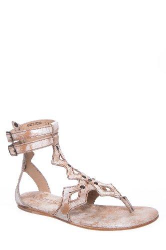 Bed|Stu Aemelia Gladiator Flat Ankle Strap Sandal