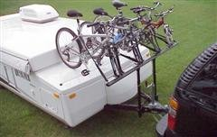 ProRac RVPB-020-1 2-Bike Carrier Tent Trailer Bike Rack