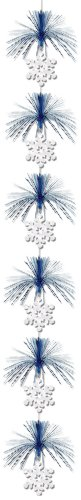 Snowflake Firework Stringer Party Accessory (1 count) (1/Pkg)
