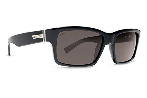 Vonzipper Sunglasses Fulton Black Gloss with Wildlife Grey Lens