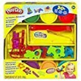 Game / Play Play-Doh: Fun Factory Deluxe Set, Over 30 pieces, 6 Play-doh cans included, For ages 3 and up Toy / Child / Kid