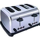 Cookworks TA8590 4 Slice Toaster - Stainless Steel.
