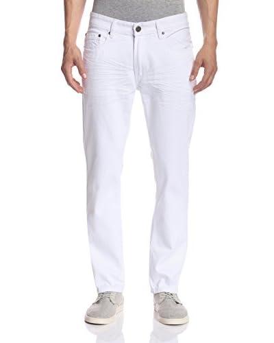 X-Ray Men's Whiskered Slim Straight Jeans