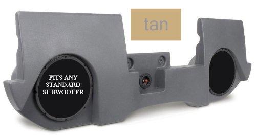 Mtx Thunderform Drqc20At-T45 Tan Dodge Ram Quad Cab Amp/Subs/Box