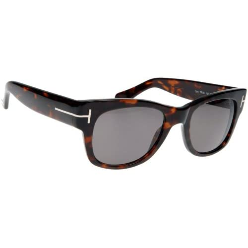 Tom Ford 0058 182 Tortoise Cary Wayfarer Sunglasses Size 52mm: Tom