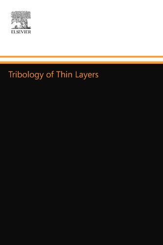 Tribology Of Thin Layers