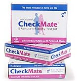 CheckMate Infidelity Tests; detect Semen Test Kit; at home use (5 tests (pack of 2))