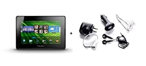 Blackberry Playbook 7-Inch Tablet (64GB) Refurbished + 5 Piece Accessory Kit