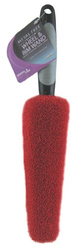 Viking 862600 Red and Black Premium Metal Free Wheel and Rim Wand (Mothers Wheel Brush compare prices)