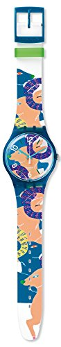 Swatch Unisex SUOZ189 Goat's Keeper Analog Display Quartz Multi-Color Watch (Goat Display compare prices)