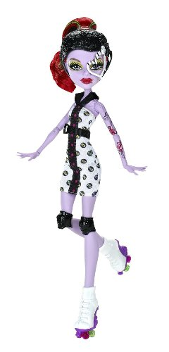 mattel x  monster	high doll operetta