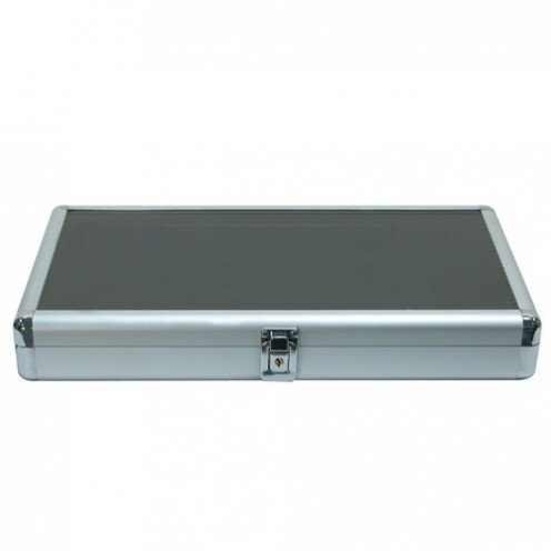 Regal Pak ® Full Size Aluminum Case With Locker And Glass Top 14 3/4 X 8 1/4 X 2 1/8H pak greg astonishing x men