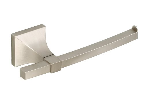 Umbra Zen Die-Cast Metal Toilet Paper Holder, Nickel