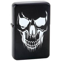 New Star Skull Lighter Large Skull Graphic Matte Black Finish Stylish Modern Design High Quality