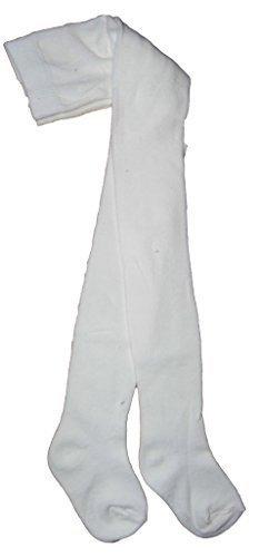 Bambino Collant tinta unita lavorato a maglia in cotone neonati 0-6m 6-12M 1-2anni 7colori tinta unita e 5modelli stili Cream 6-12 Mesi
