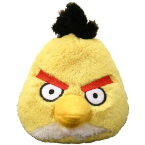 Angry Birds 8 Inch DELUXE Plush Yellow Bird - 1