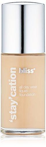 bliss Stay'cation Long Wear Liquid Foundation, Ivory, 1.1 fl. oz.