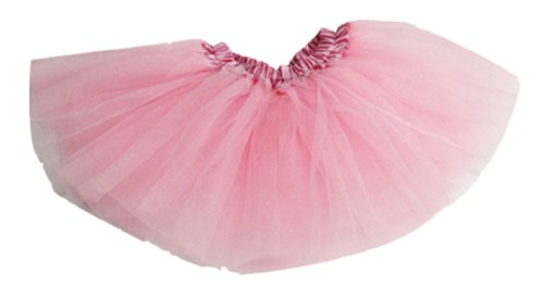 Am Clothes Girls Tutu Skirts 2-8 Years Old(Baby Pink) front-521401