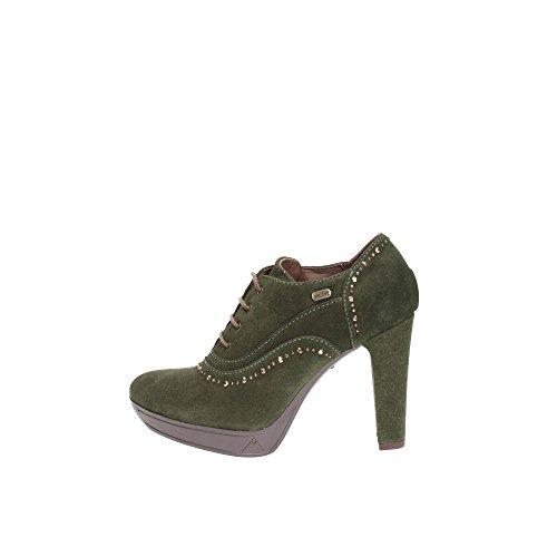Andrea Morelli LB70407 Tronchetto Donna Pelle Verde Verde 36