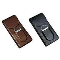 3 Cigar Magnetic Case with Cutter
