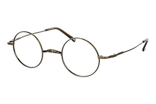 John Lennon Wheels Mens Eyeglass Frames - Copper/Antique (John Lennon Wheels compare prices)