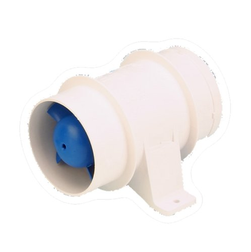 Rule 140 Marine Bilge Blower (3-Inch, Inline),White (3 In Exhaust Fan compare prices)