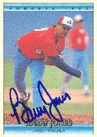 Barry Jones Montreal Expos 1992 Donruss Autographed Hand Signed Trading Card. by Hall+of+Fame+Memorabilia