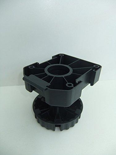 4er-Set-75-mm-Sockelfuss-Kchensockelfuss-Sockelverstelller-Hhenversteller-Sockelverstellfu-Mbelfu-LIVINDO