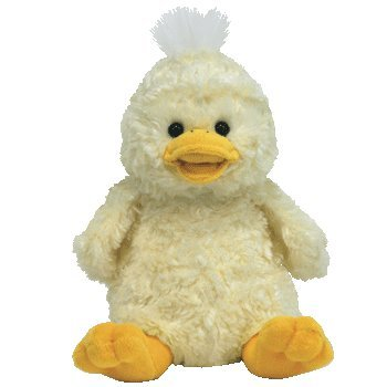 Ty Beanie Babies 2.0 Quackly  Yellow Duck, Sitting