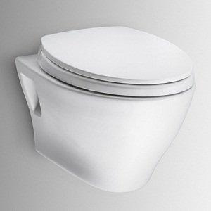 Toto Aquia Wall-Hung Dual-Flush Toilet 1.6GPF & 0.9GPF