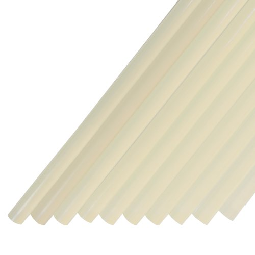 "Power Adhesives Extended Set Time Glue Sticks 1/2"" X 11"", Straw, 11 Lb. Box front-220676"