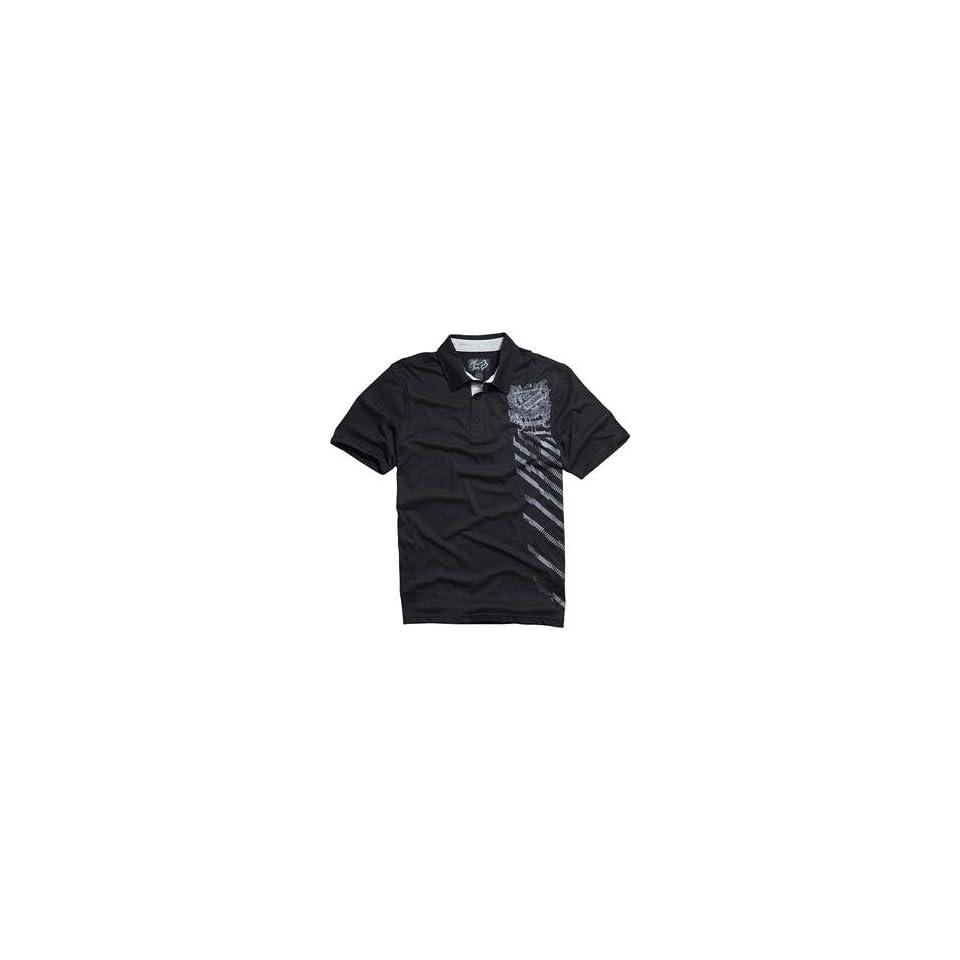 Fox Racing Ride or Die Polo Shirt   Small/Black