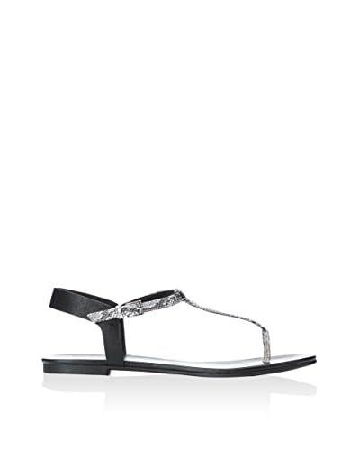 Another Pair of Shoes Sandalias planas SandyK1 Gris / Negro