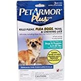 Pet Armor Plus Igr For Dogs Flea And Tick, Size: 6.5-22lb 3count