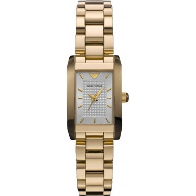 Emporio Armani AR0360 Ladies Classic Gold Watch