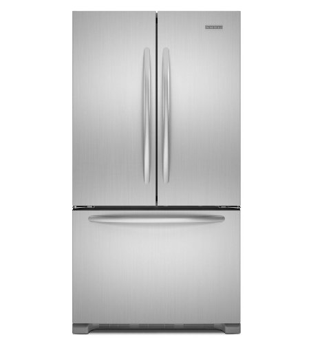 KitchenAid Architect Series II KFCS22EVMS 21.8 cu. ft. Counter-Depth French Door Refrigerator - SS