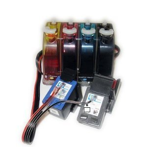 Fantasybuy Bulk Continuous Ink System (Cis) For: Hp Deskjet 3000, 3050 (Related Cartridge # : Hp61)