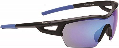 BBB - Gafas Arriver Negro Mate/Cristal Azul Bsg-36