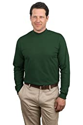 Port & Company - Mock Turtleneck, PC61M, Dark Green, 3XL