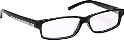 NBA Eyewear Men's 830 Eyeglasses,Black