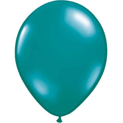 "Qualatex 5"" Jewel Teal Latex Balloons (10 ct)"