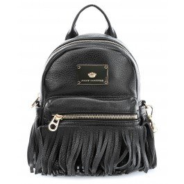 Juicy Couture Solstice Fringe Zaino nero