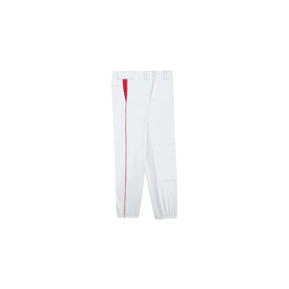 a47ec13c065 Adult Youth Select Baseball Pants With Piping WHITE on PopScreen