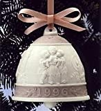 Lladro Christmas Ornament Bell 1996 #16297 thumbnail
