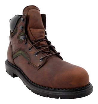 """Red Wing 6"""" Insulated Waterproof Soft Toe Work Boot Size 8D (Model 01206-0)"""